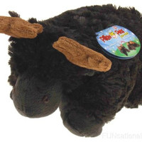Pillow Pets Pee Wees Chocolate Moose As Seen On TV 2011 Stuffed Animal Plush Toy