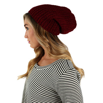 The More The Merrier Sweater Beanie Red