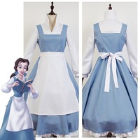 Adult Women Beauty And The Beast Costume Cosplay