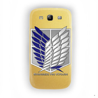 Attack on Titan Scouting Legion For Samsung Galaxy S3 Case