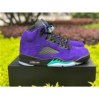 AIR JORDAN 5 RETRO ¡°ALTERNATE GRAPE¡± high-top basketball shoes