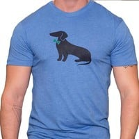 Light Blue Dachshund Tee