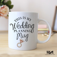 This Is My Wedding Planning Mug - Laced in Weddings