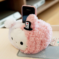 Super Cute San-X Sentimental Circus Rabbit Plush Phone Holder