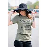 Some Girls Shop T-shirt Final Sale