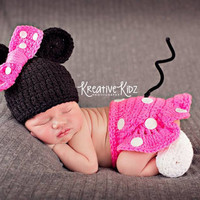 Newborn Baby Girls Boys Crochet Knit Costume Photo Photography Prop = 4457519300