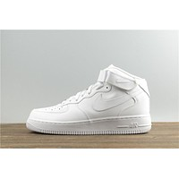 Nike Air Force 1 Mid All White 315123-111