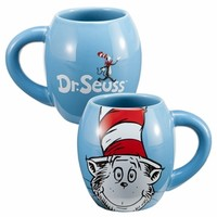 Dr. Seuss Cat in the Hat 18 oz. Ceramic Coffee Mug - Kitchenware
