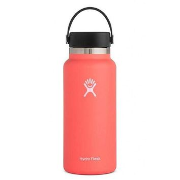 32 oz Wide Mouth Hydro Flask - Hibiscus