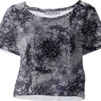 Nature Collage Print Crop Top created by dflcprints | Print All Over Me