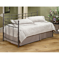 Hillsdale Furniture 380DBLHTR Providence Antique Bronze Daybed with Roll-Out Trundle