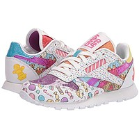 Reebok Unisex-Child Classic Leather Candy Land Sneaker