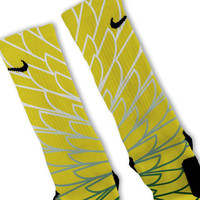 Wings 5 Custom Nike Elite Socks