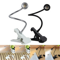 USB Power Flexible Eye-Protection Adjustable Rechargable LED Light Clip-on Beside Bed Table Desk Lamp For Laptop Book Reading