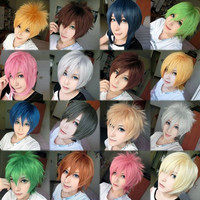 The Ultimate Short Cut Cosplay Wig - 16 styles to choose from!