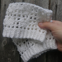 Heart boot cuffs, you pick the color and size