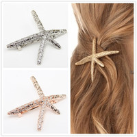 Fashion Metal Hair Clips Barrette Hairpin Kanzashi Accessories For Women Girls Hair Clip Pin Clamp Hairclip Hairgrip Ornaments