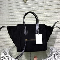 Ready Stock Celine Women's Suede Leather Tote Bag Handbag #2294