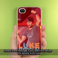 Luke Bryan Dancing iPhone Case for iPhone 5, iPhone 4/4S Hard Cover Plastic