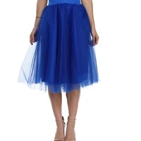 Royal Tulle Darling Party Skirt