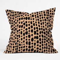 Rebecca Allen Pebble Beach Chic Throw Pillow