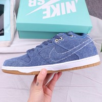 NIKE SB Fashion New Sports Leisure Men High Quality Shoes Blue