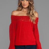 Jen's Pirate Booty Whipping Post Tunic in Red