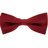 Tok Tok Designs Pre-Tied Bow Tie for Men & Teenagers (B4, Wine Color)