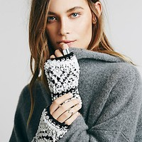 Free People Womens Cantina Cozy Fingerless Glove
