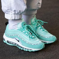 Nike Air Max 97 bullet air cushion sports shoes