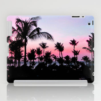 Pink Sunset iPad Case by Laura Nappi