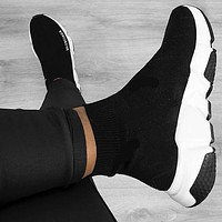 Vogew Balenciaga Woman Men Boots Fashion Breathable Sneakers Running Shoes