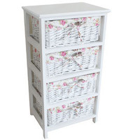 White Willow 4 Drawer Tower | Dunelm Mill
