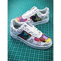 Kwas X Nike Air Force 1 Af1 Graffiti Sport Running Shoes