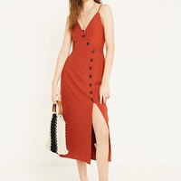 UO Amber Spice Midi Dress | Urban Outfitters