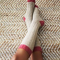 Urban Knit Womens Valley Cable Knee Sock