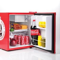 Nostalgia CRF170COKE Coca-Cola 1.7 Cubic-Foot Limited Edition Mini Refrigerator with Ice Cube Tray
