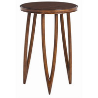 Arteriors Home Sabre Mahoghany Veneer and Solids Accent Table - Arteriors Home DD2025
