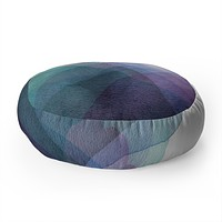 Elena Blanco Layers Floor Pillow Round