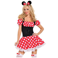 Mickey Mistress Halloween Costume LAVELIQ