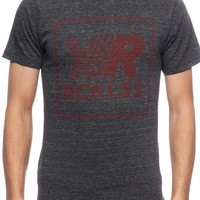 Pacer Quad Tee- Charcoal
