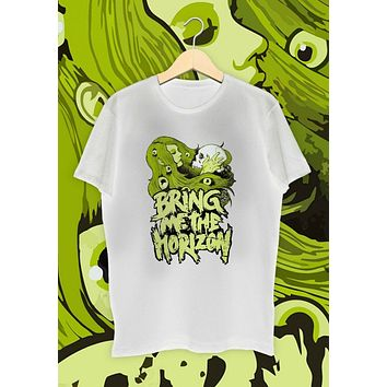 Bring Me The Horizon Shirt White From Tee Shirt Street Wear Fashion|T-Shirts