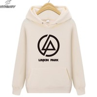 Autumn Linkin Park Brand Hoodies Men's Casual Sweatshirt Male Hip Hop Hoodies Pullover Hoody