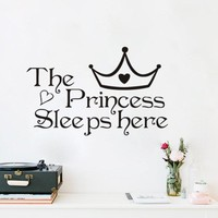 Children 's Room Stickers Princess Wall Decoration Wall Stickers