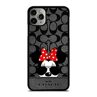 COACH NEW YORK DISNEY MICKEY MOUSE iPhone 11 Pro Max Case