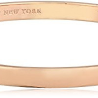 """kate spade new york """"Idiom Bangles"""" Stop and Smell The Roses Solid Bangle Bracelet"""