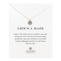 Life's A Maze Make A Wish, Sterling Silver| Dogeared