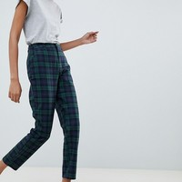 ASOS DESIGN blackwatch check slim pants | ASOS