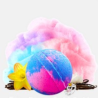 Carnival Cotton Candy Ring Bath Bomb