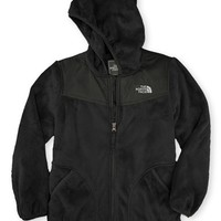 The North Face Girl's 'Oso' Plush Fleece Hooded Jacket